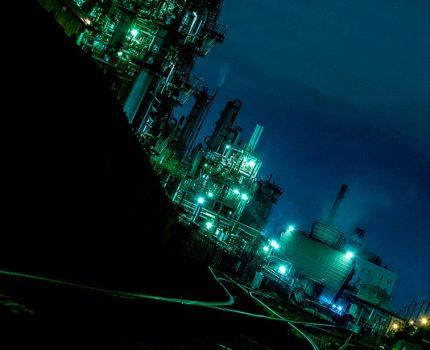 川崎工場夜景を撮影 #工場夜景萌え #こぶツアー