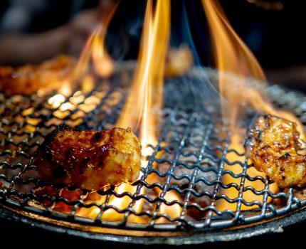 ホルモンはもちろん焼肉や宮崎辛麺も良い オシャレな焼肉屋 炭火焼ホルモン ぐう 築地