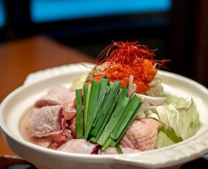 個室でゆっくり比内地鶏の明太水炊き鍋 横浜 兼政