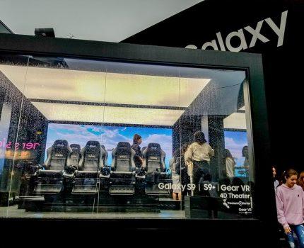 Galaxy ShowcaseでGalaxyならではの機能とVRアトラクションを体験