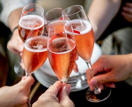 Tokyo Marriott Hotel Lounge & Dining G でシャンパン会