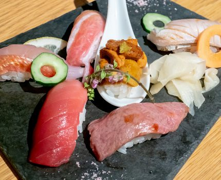 ロブスターを楽しめるおしゃれな寿司バー 渋谷 KINKA SUSHI BAR IZAKAYA