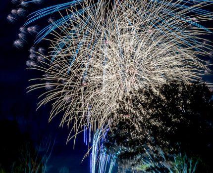 一尺五寸玉やスターマインをE-M1 MarkIIやGoPro HERO7 Blackで撮影 晩秋の第60回立川まつり国営昭和記念公園花火大会