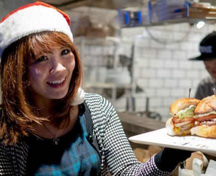 神保町folk burgers & beers 第79回マンスリーハンバーガーTV クリスマスパーティ!