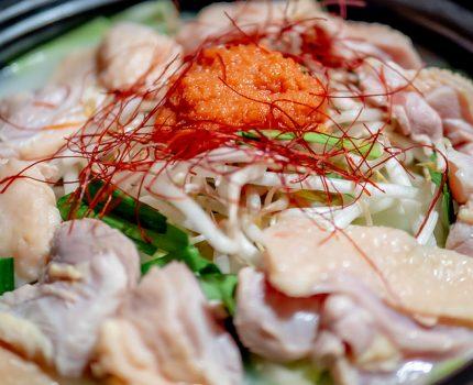 さつま地鶏の明太子鍋 薩摩地鶏と個室居酒屋 信玄 高田馬場店