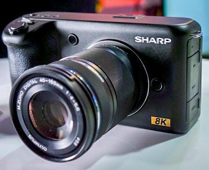 SHARP m4/3 8Kカメラと Panasonic フルサイズ LUMIX S1R/S1 と OLYMPUS E-M1X