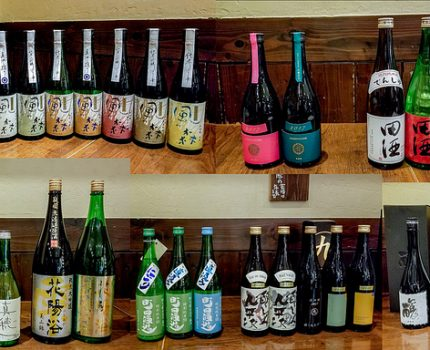 日本酒飲み比べ新年会