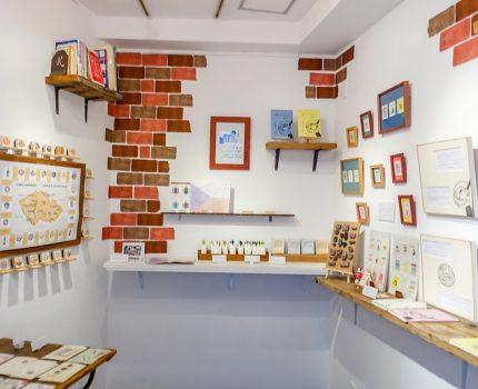 はんこと物語の詰まった期間限定の可愛い小書店 @恵比寿山小屋 #チェコ親善アンバサダー