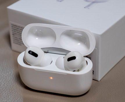 着けていて疲れず快適に音楽を楽しめるノイズキャンセリング完全ワイヤレスイヤホン Apple AirPods Pro
