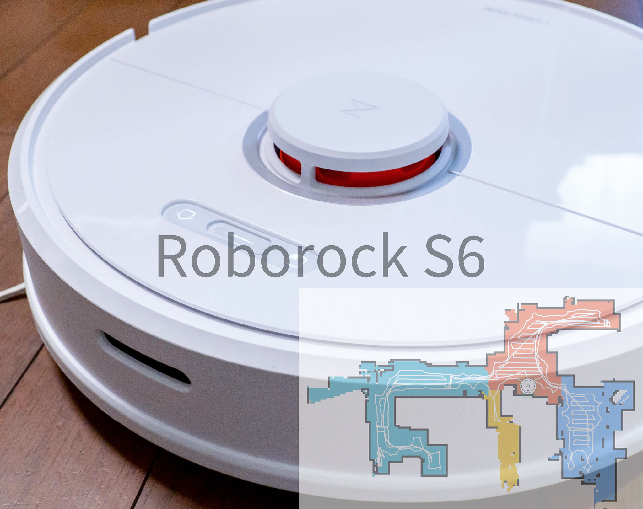 Roborock ロボット掃除機 S6 とても静かで掃除と同時に水拭きもできる レーザー搭載でマップ作成&掃除も効率的 #ひかりTVショッピング