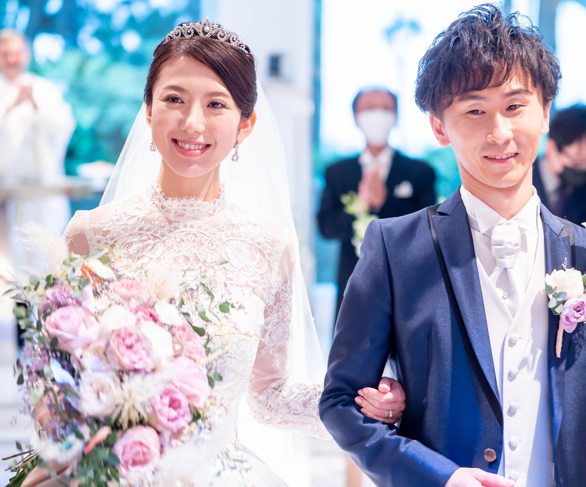 ご結婚おめでとうございます! ウェディングフォト@ヒルトン東京ベイ