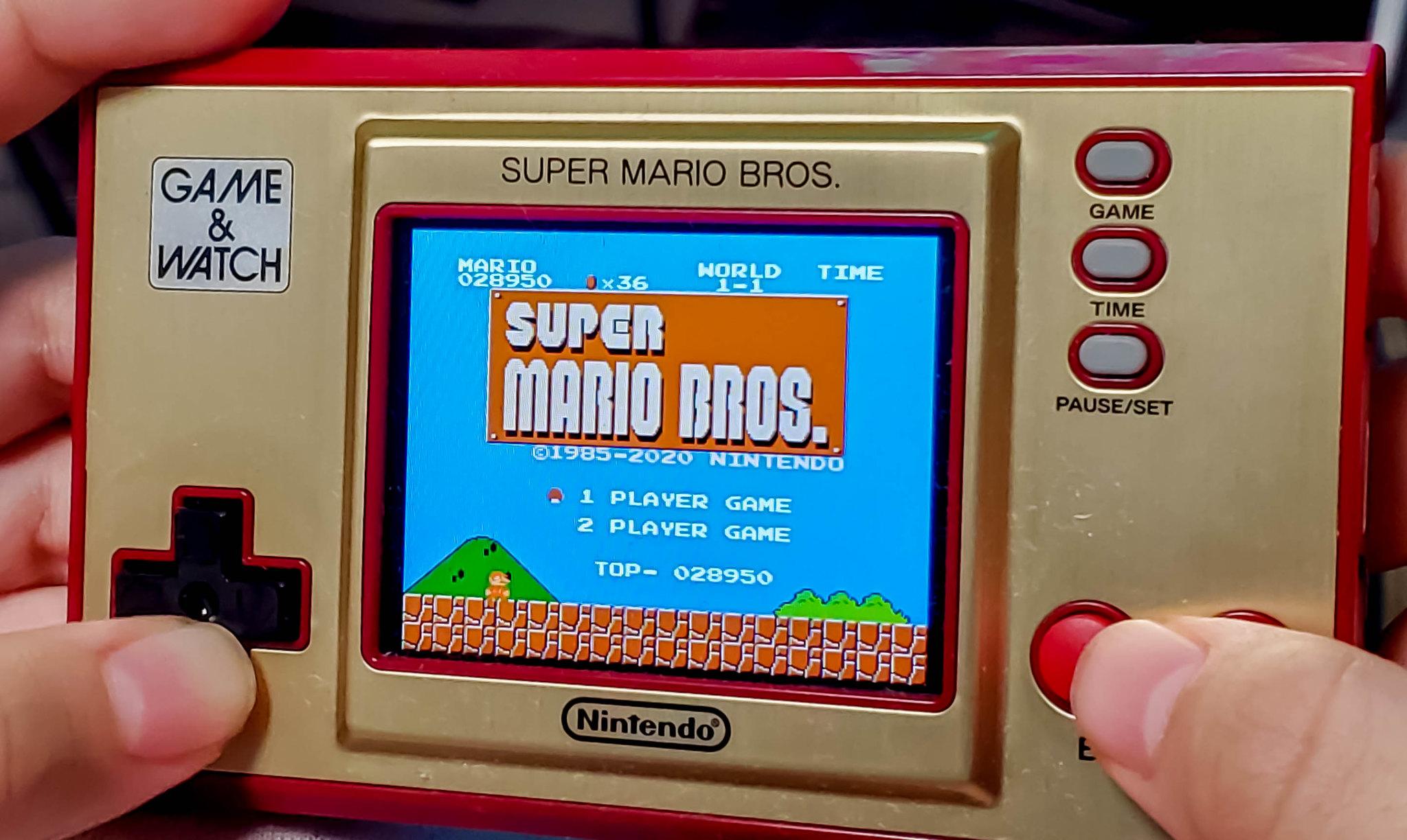 GAME&WATCH SUPER MARIO BROS.