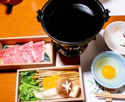 吉祥寺駅前で神戸牛のすき焼きコース 神戸牛 栞庵 やましろ