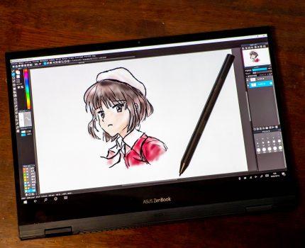 仕事・エンタメ・クリエイティブにマルチに使える 薄型軽量でデザインの良いWindowsノートPC ASUS ZenBook Flip S UX371EA