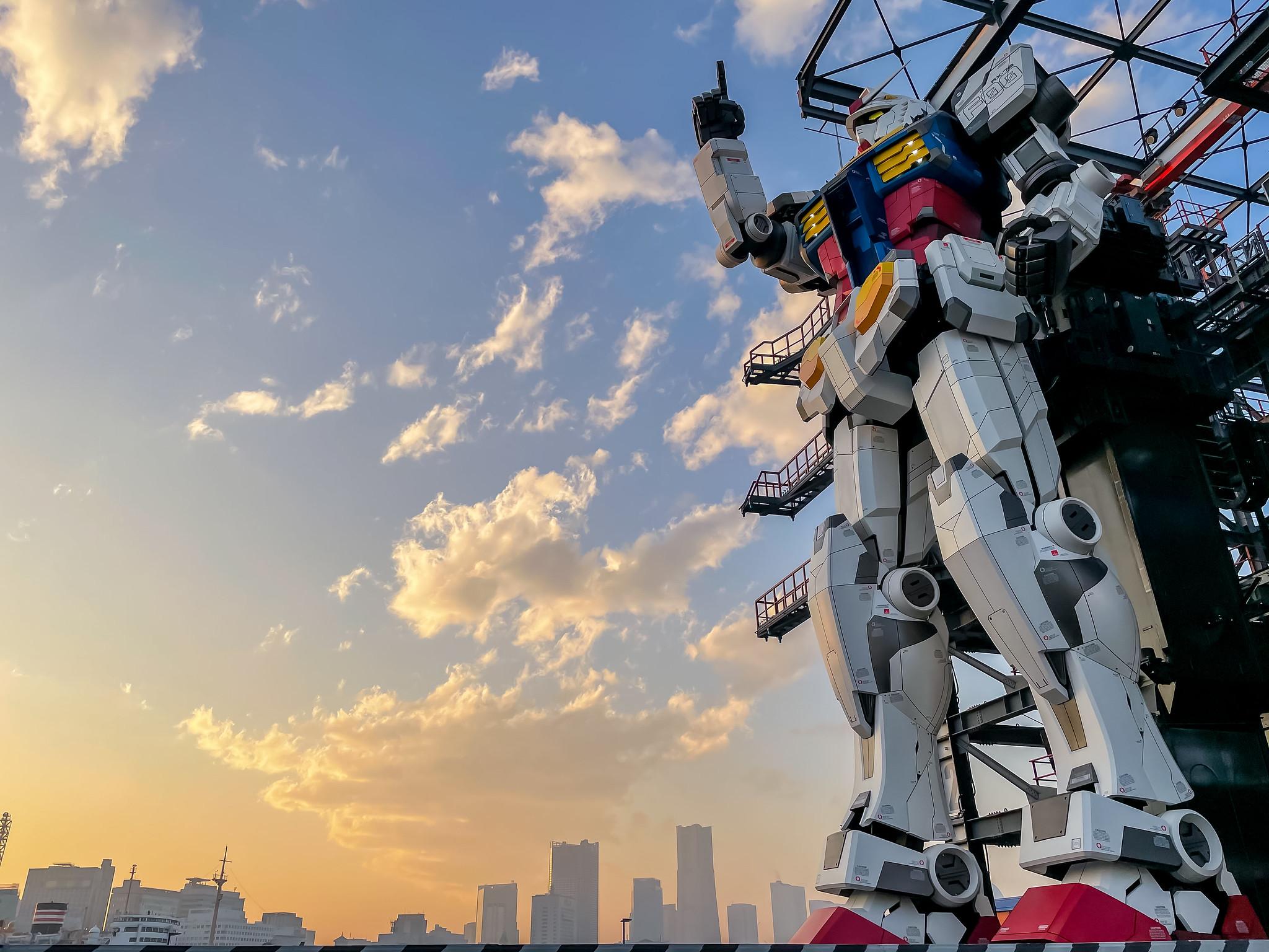 日本の夢と技術の結晶 動く実物大ガンダムを体験してきました GUNDAM FACTORY YOKOHAMA