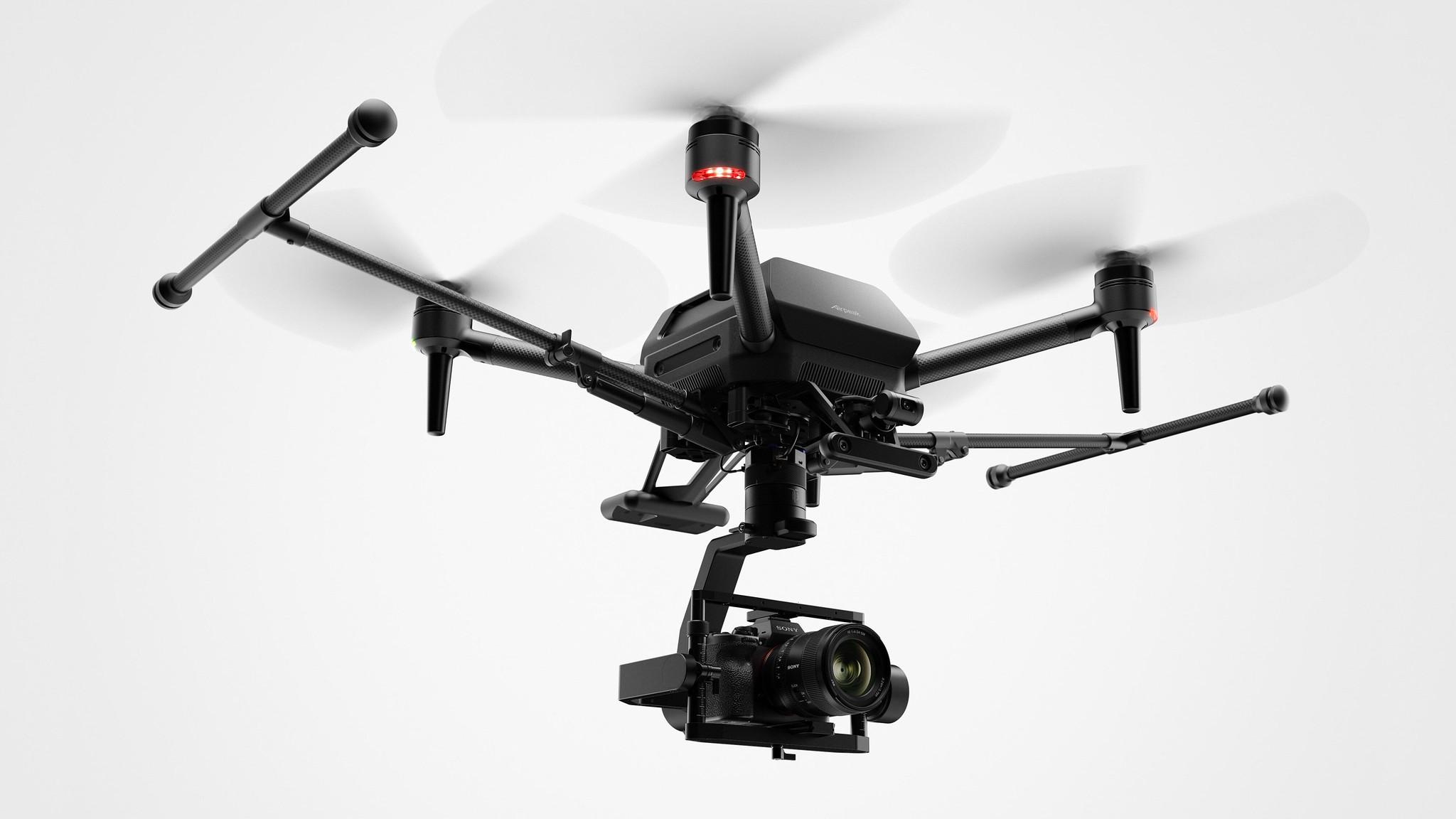 SONYがフルサイズα搭載可能ドローンAirpeakを実機公開 #CES2021