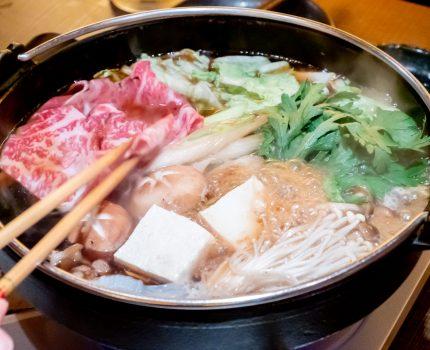 和牛すき焼きにレアな肉刺し・肉寿司・牛カツ 肉と日本酒を満喫 いぶり 神田店