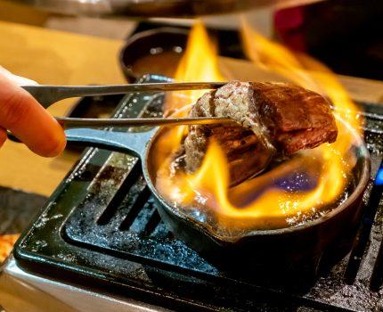 好きなお肉を1枚単位で注文できる焼肉屋 #ファイヤーステーキ や厚切タンも外せない 浅草橋 焼肉とどろき