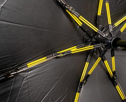強風を受け流す壊れない折りたたみ傘 UVカット日傘にもなる KUAIZI UNBREAKABLE UMBRELLAS