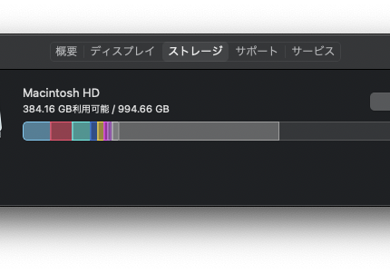 MacBookのストレージが一杯に Final Cut Pro, Lightroom Classic, iMovie などが容量を圧迫している場合の対処法