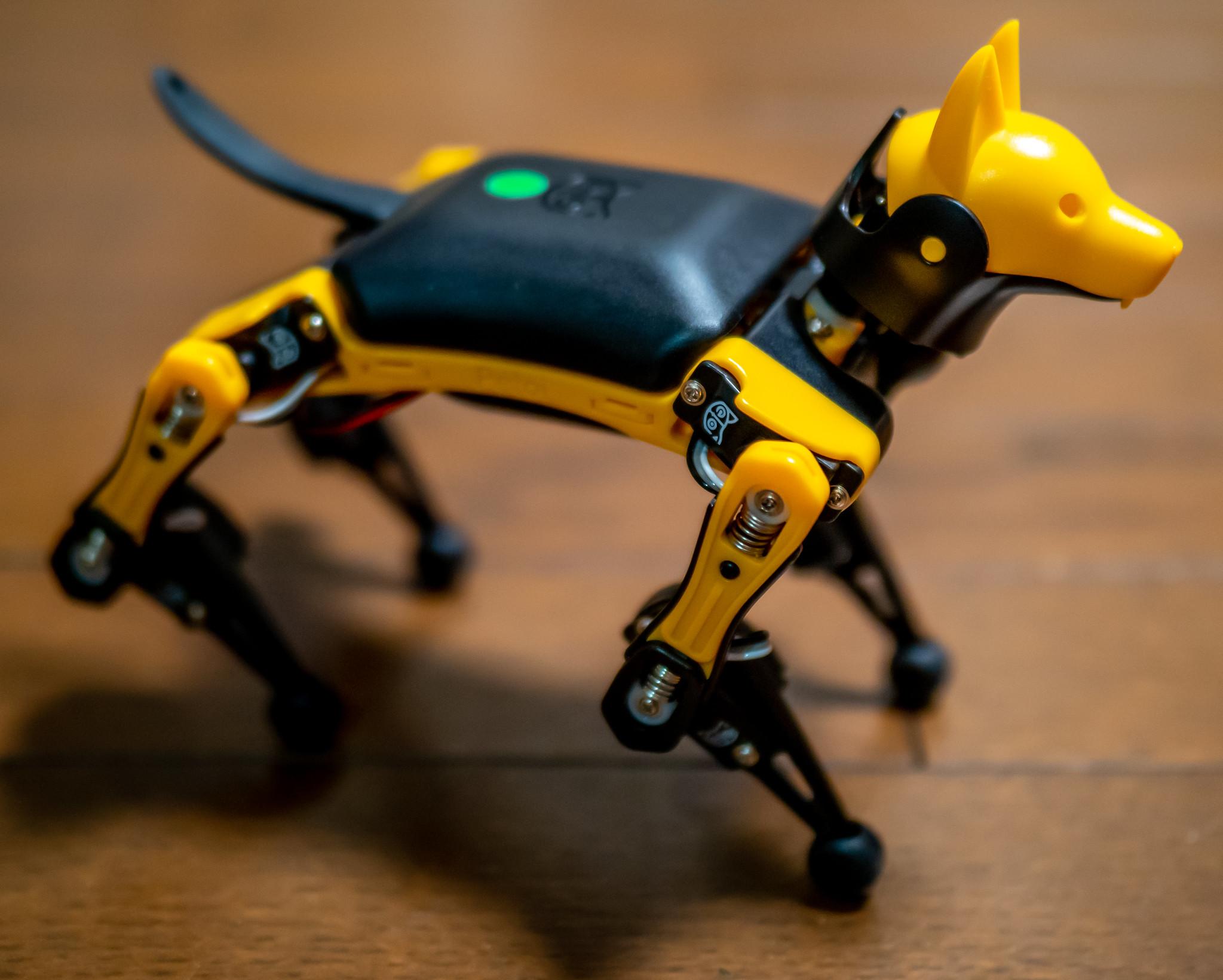 手のひらサイズの四足歩行ロボット Petoi Bittle を動かしてみました