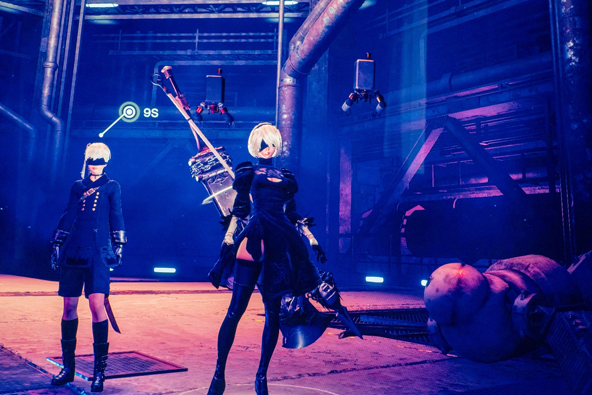 NieR:Automata と Vivy -Fluorite Eye's Song-