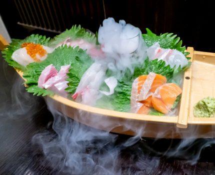 品川で新鮮な魚を楽しめる 黒潮 品川本店