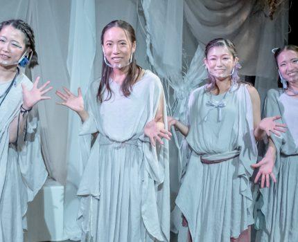 ハムレットをピアノ生演奏×ひとり芝居×踊りで表現する #酔ひどれ船 の #深海のオフィーリア を観てきました