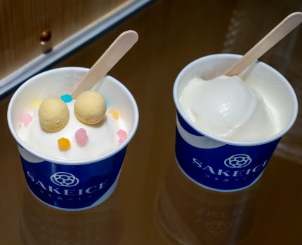 日本酒アイス専門店SAKEICE浅草店 浅草名物を詰め込んだほろ酔いカッサータ-和- #がんばれ浅草