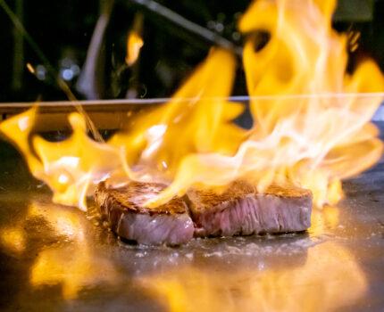 ミシュランフレンチの前菜と鮑・オマール海老・松阪牛を鉄板焼で楽しむ 横浜 鉄板焼き Sublime