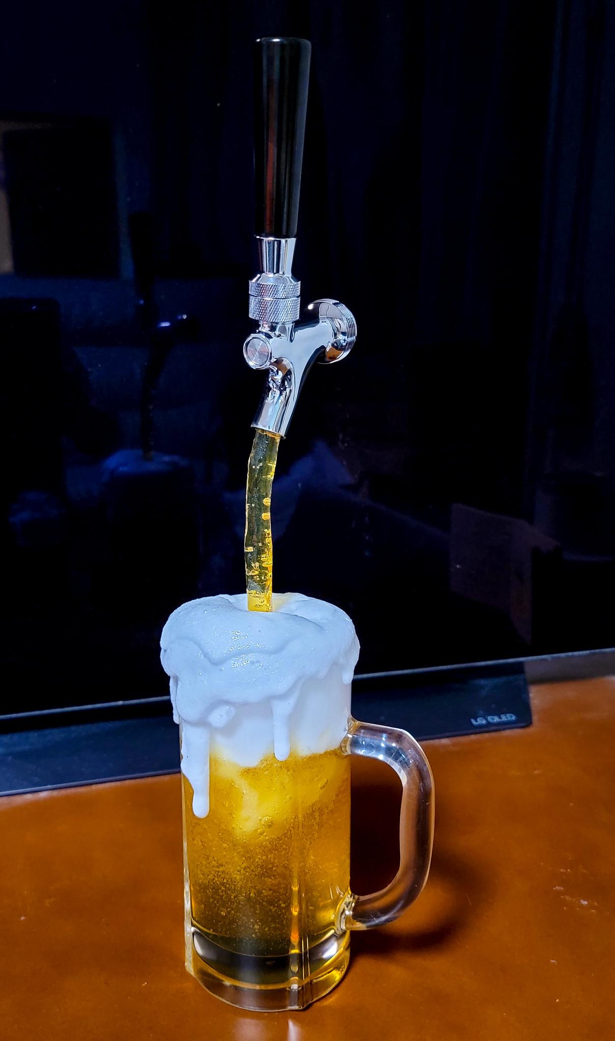 ビールサーバー 当選!?
